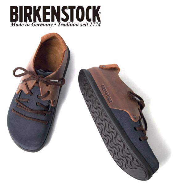 ユニセックス/BIRKENSTOCK/ビルケンシュトック/Montana/モンタナ/定番/スエードレザー/オイルドレザー/ネイビー/ブラウン/品番:1014845