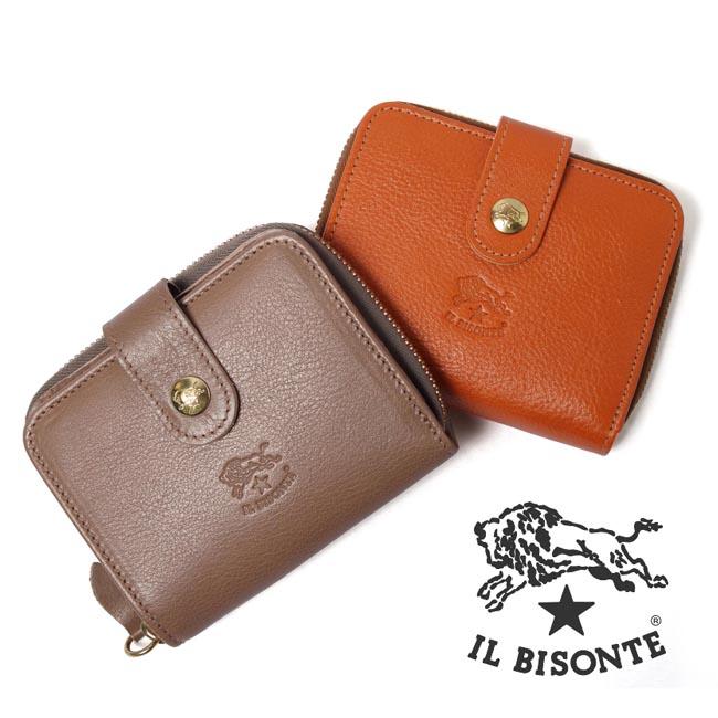 グッズ/IL BISONTE/イルビゾンテ/二つ折り財布/レザー/品番:54152309440