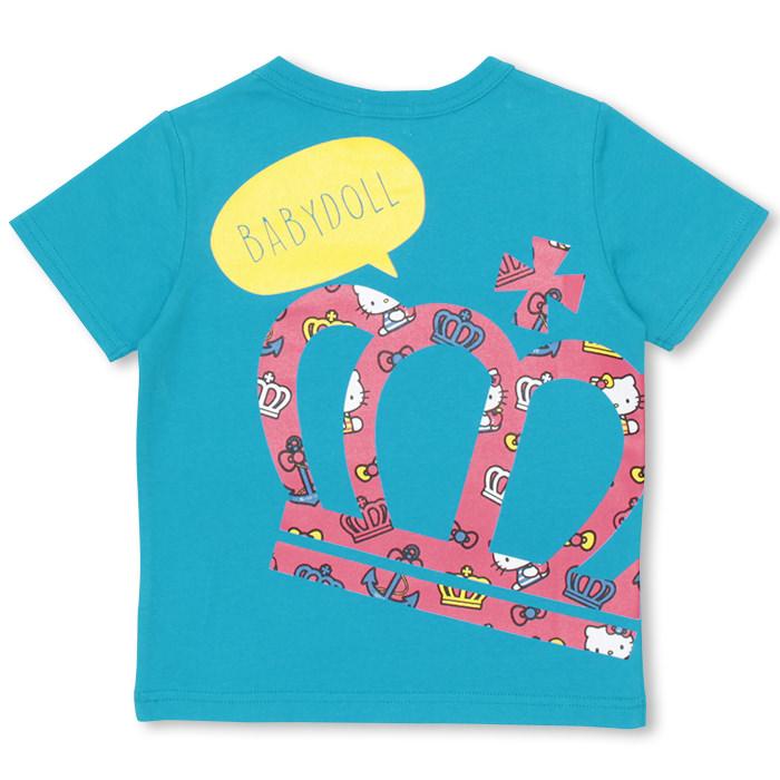 20%OFF T恤4/27NEW父母子女一对★三丽鸥_马林T恤-童装婴儿小孩男人的子女的孩子成套的rinkukodepeakodebebidoru BABYDOLL starvations/HELLO KITTY-9608K_ssLO KITTY-9608K_ss_sts