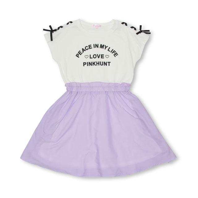 b4c2031b2cd4a 4 17NEWPINKHUNTピンクハントドッキングワンピース2513KベビードールBABYDOLL子供服キッズジュニア女の子