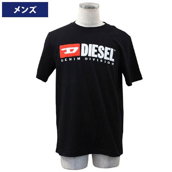 ディーゼル メンズ半袖Tシャツ カジュアルTシャツ 丸首 T-JUST-DIVISION MAGLIETTA DIESEL 2019年春夏新作 00SH0I-0CATJ-900【新品】
