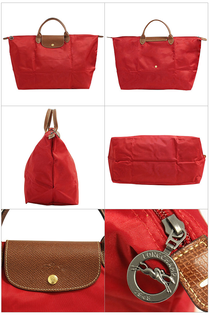 b0d8583e8912 ロンシャン LONGCHAMP 折りたたみトートバッグ ボストンバッグ 鞄 ...