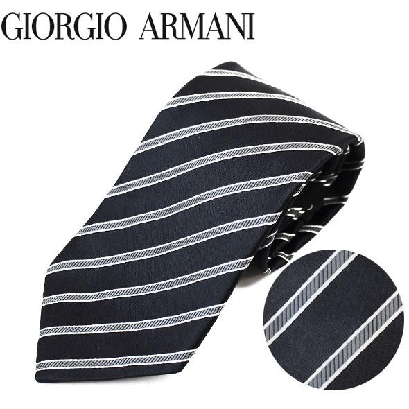 ジョルジオアルマーニ GIORGIO ARMANI ネクタイ レギュラータイ ストライプ 2018年新作 360054 8P920 00020//360054-8P920-00020-HC【新品】