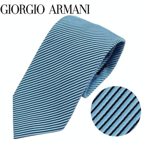 ジョルジオアルマーニ GIORGIO ARMANI ネクタイ レギュラータイ ストライプ 2019年春夏新作 360054 9P918 02931//360054-9P918-02931-HC【新品】