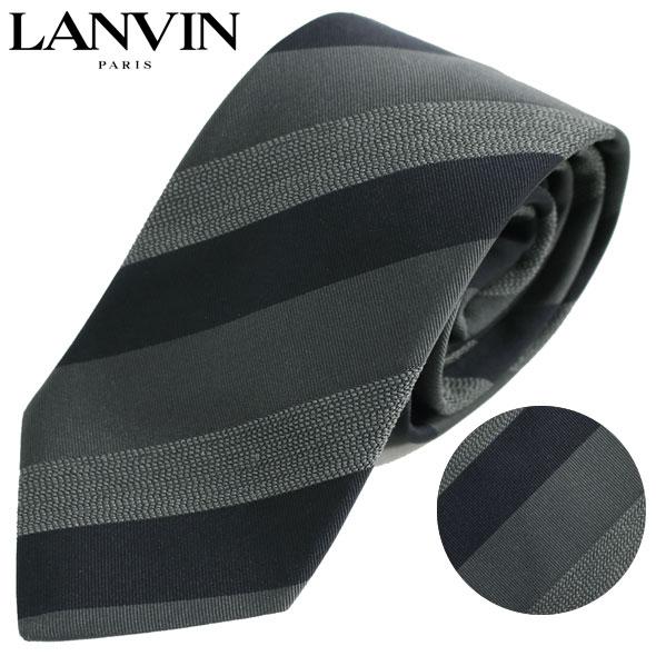 ランバン LANVIN ネクタイ レギュラータイ ストライプ 3153/5//3153-5-HC【新品】