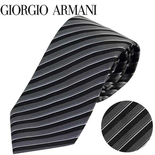 ジョルジオアルマーニ GIORGIO ARMANI ネクタイ レギュラータイ ストライプ 2020年春夏新作 360054 0P914 00020//360054-0P914-00020-HC【新品】