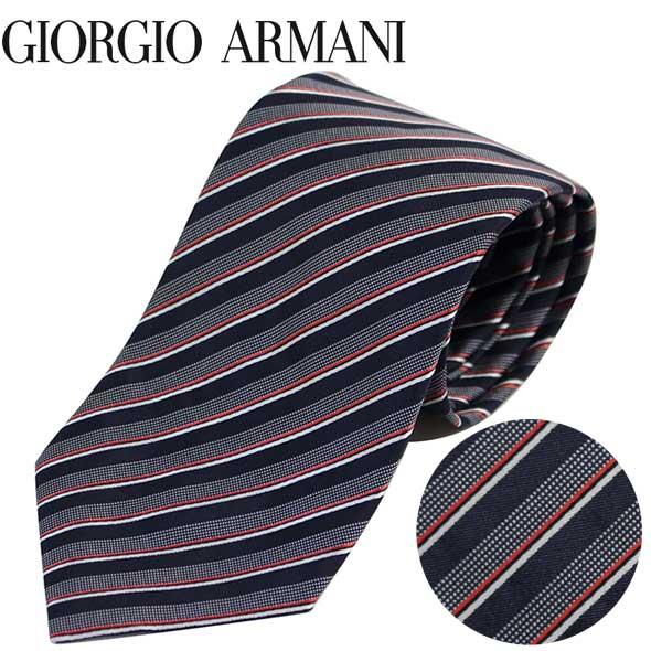 ジョルジオアルマーニ GIORGIO ARMANI ネクタイ レギュラータイ ストライプ 2020年春夏新作 360054 0P914 00035//360054-0P914-00035-HC【新品】