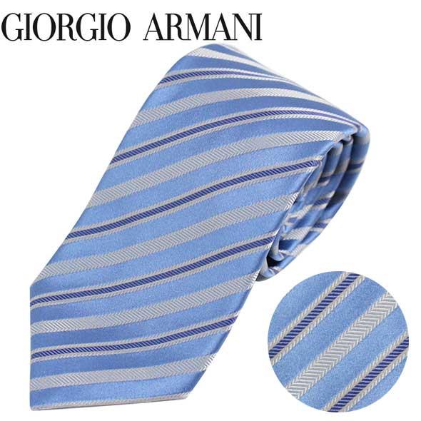 ジョルジオアルマーニ GIORGIO ARMANI ネクタイ レギュラータイ ストライプ 2020年春夏新作 360054 0P916 00291//360054-0P916-00291-HC【新品】