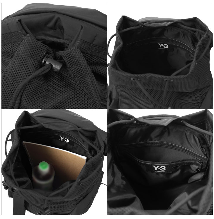 Y-3 ワイスリー リュックサック デイパック バックパック XS Mobility Bag DY0516//DY0516-BK【新品】