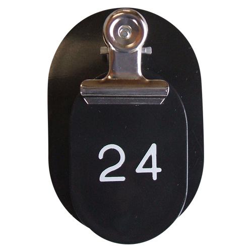 クラウン 注文後の変更キャンセル返品 PP親子札2枚組ポリプロピレン番号入連番 安売り CR-PY50-B