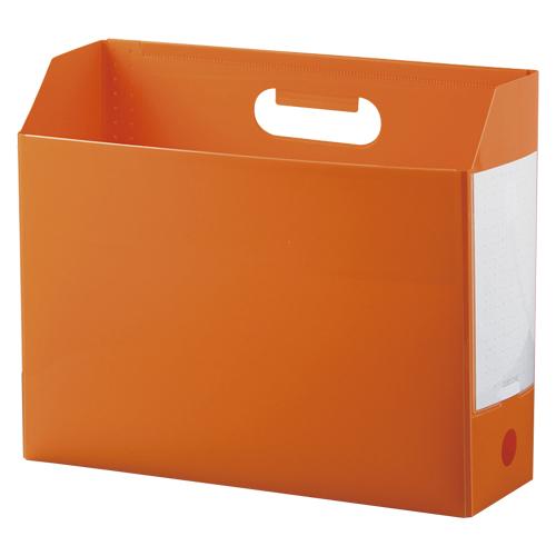 全店販売中 セキセイ アドワンボックスファイル お見舞い A4横オレンジ AD-2651-51