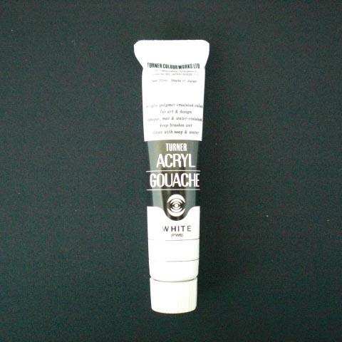ターナー アクリルガッシュA色 20ml ホワイト AGA20 高級な #1 流行