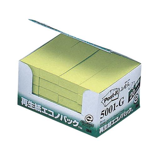 スリーエム 大好評です 再生紙エコノパック グリーン 5001-G 超美品再入荷品質至上