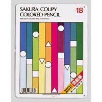 メール便可 サクラクレパス 値下げ クーピー色鉛筆18色 スタンダード PFY18 格安 価格でご提供いたします