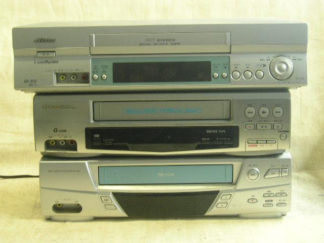 中古 メーカー不問 格安 希少VHSビデオデッキ 付属品はありません 再生専用 販売期間 限定のお得なタイムセール 店内限界値引き中&セルフラッピング無料 本体のみです