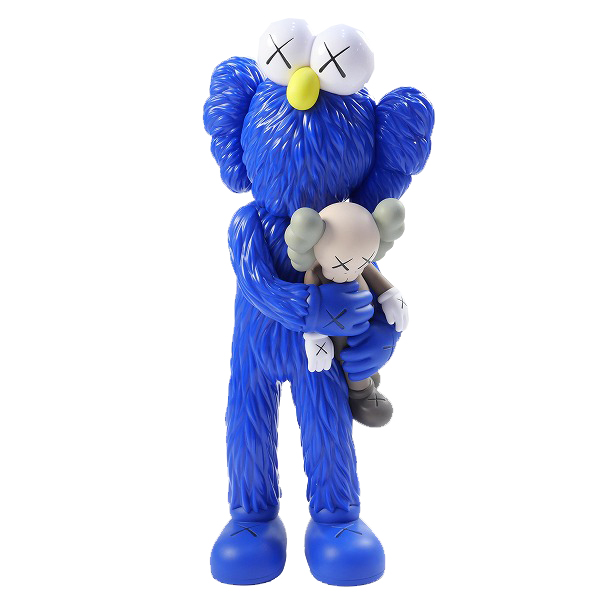 KAWS カウズ ×MEDICOM TOY メディコムトイ TAKE フィギュア 青 Size【フリー】 【新古品・未使用品】