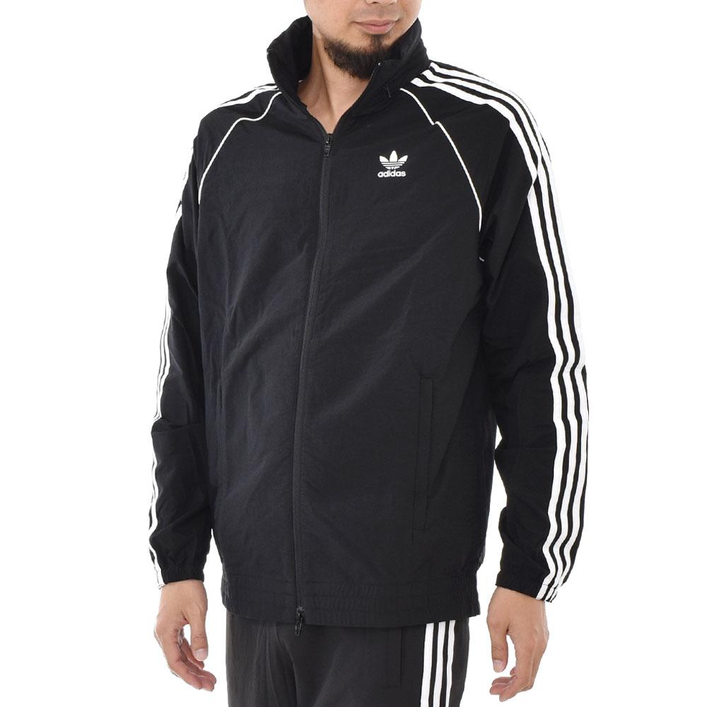 It is アディカラー ADICOLOR ブランドトレフォイルトレホイルブラック black M L O SST WINDBREAKER CW1309 in Adidas originals adidas originals jacket men gap Dis superstar