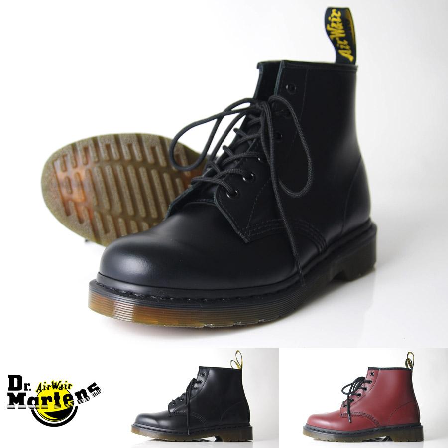 ドクターマーチン Dr.Martens ブーツ 6ホール【ドクターマーチン 101 6アイ ブーツ 10064001/10064600】【返品・交換 ・キャンセル不可・日時指定不可】 メンズ【お取り寄せ商品】