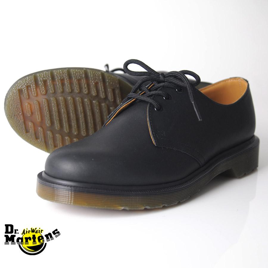 70758d4865 Martens Hall 3 plain Welt 3 eyelet shoes Dr.Martens 1461 PW 3 EYELET SHOE  ...