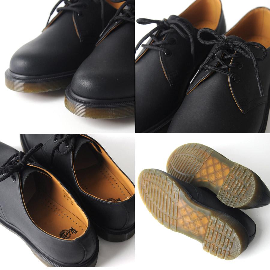 马滕斯霍尔 3 平原贴边 3 网眼鞋 Dr.Martens 1461 PW 3 网眼鞋 10078005 工作靴皮革鞋鞋切的女装男装 Dancewear 男人