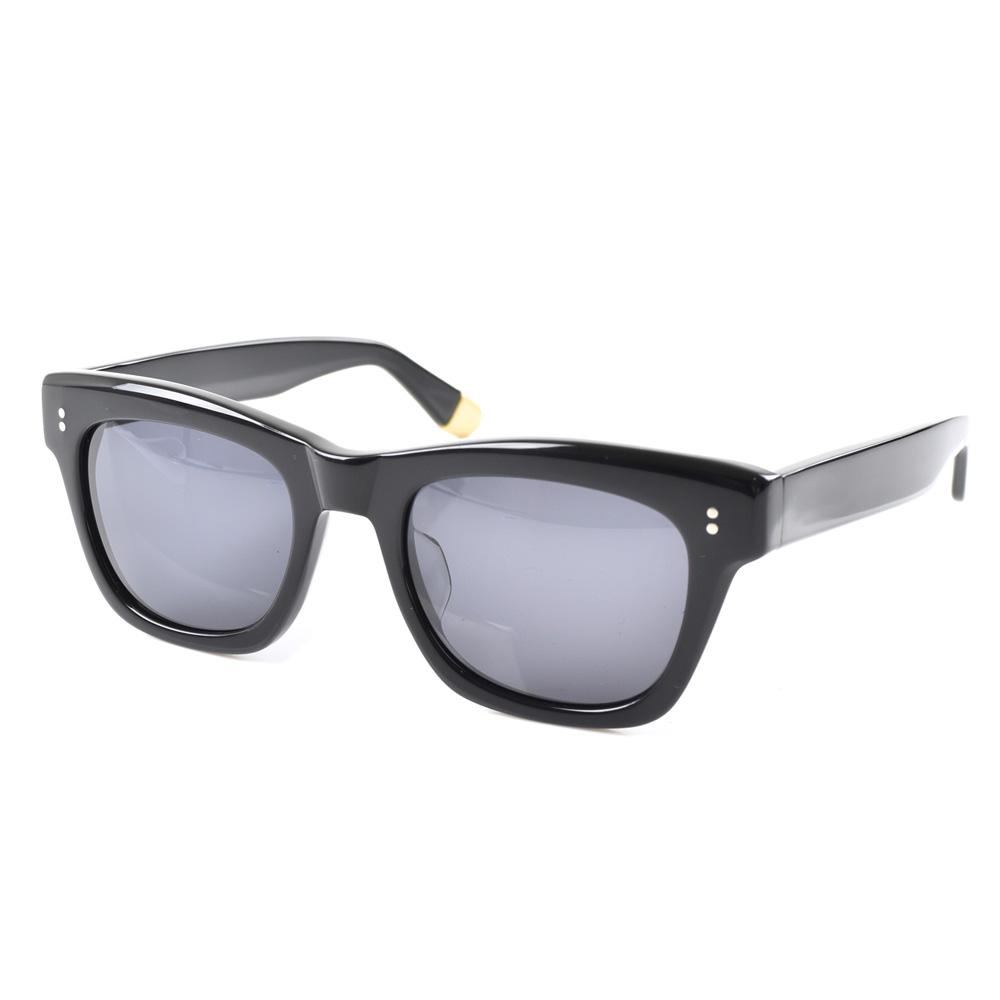 セイバー サングラス SABRE ランブラー レディース メンズ uvカット 紫外線 ウェリントン ボストン 大きめ レトロ クラシック カラー ブラック グレーレンズ セルフレーム 黒ぶち 黒フレーム sunglas RAMBLER SS6-501
