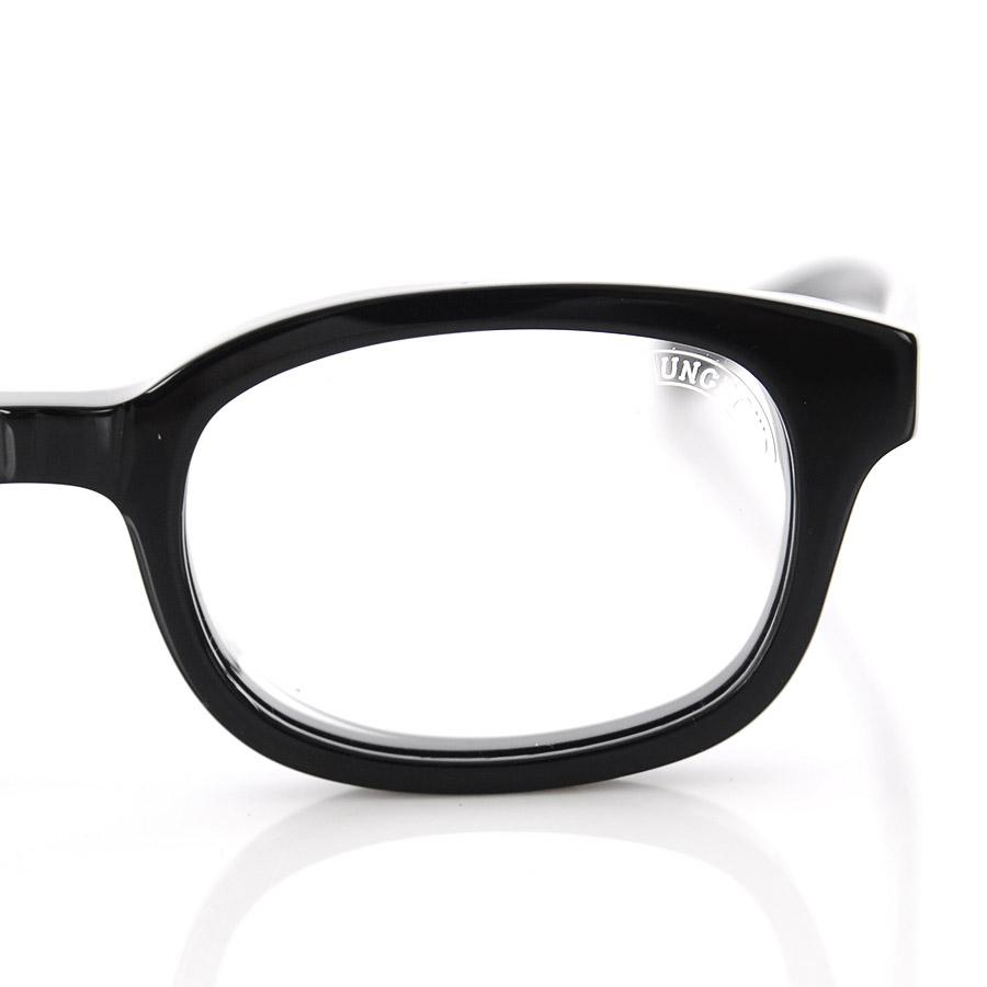 云 UNCROWD 太阳镜海拉 UC-001 黑色框架清晰镜头