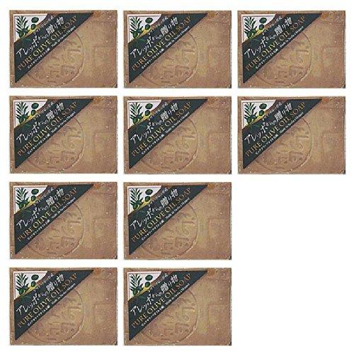 スーパーSALE中ポイントアップ 誕生日/お祝い アレッポからの贈り物 190g×10個セット ピュアオリーブオイル100% 爆売りセール開催中 トルコ産