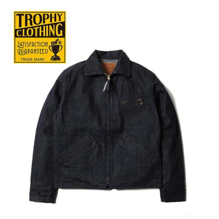 TROPHY CLOTHING トロフィークロージング ジャケット  Indigo Humming Bird Jacket ハミングバードジャケット インディゴ