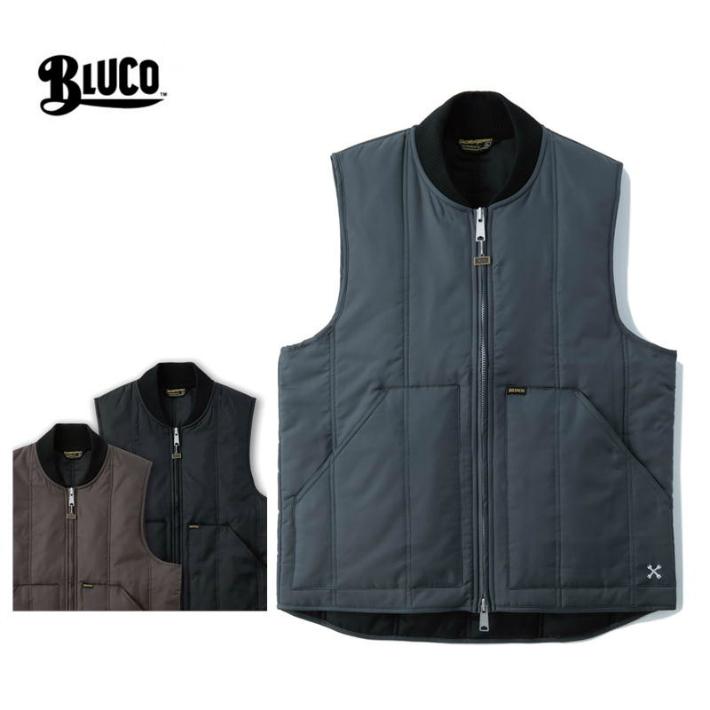 BLUCO ブルコOL-044-019 リブベスト RIB VEST