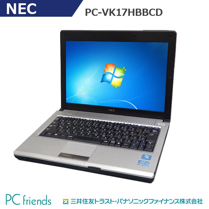 【特価品コーナー掲載品】NEC PC-VK17HBBCD (Corei7 PC-VK17HBBCD【Bランク】/無線LAN/B5モバイル)Windows7Pro搭載 中古ノートパソコン【Bランク】, yokosima ボーダー服の専門店:60721d79 --- officewill.xsrv.jp