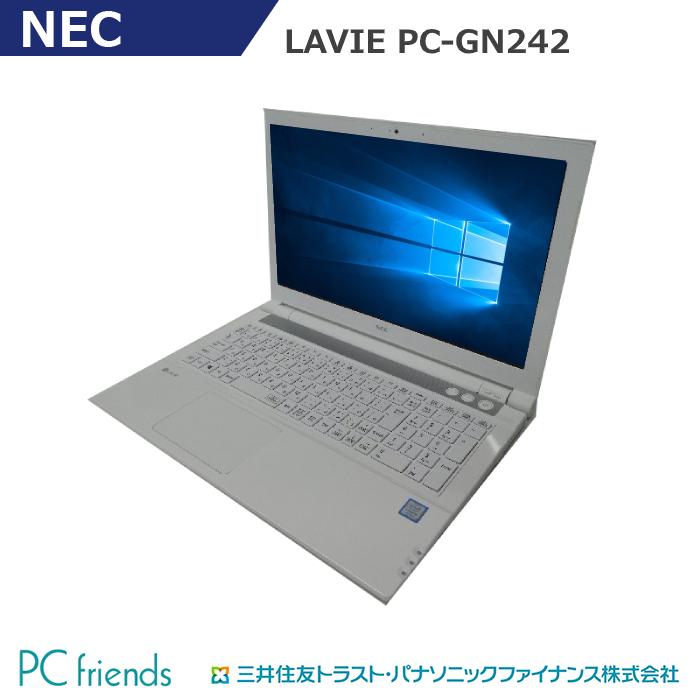 オンラインショッピング 出店して15年以上 中古ノートパソコン専門店 安心の3ヶ月保証 ついに入荷 厳格な動作試験 クリーニング済 おすすめバナー掲載品 NEC PC-GN165ERLC Corei5 無線LAN Windows10Pro MAR RAM8GB A4サイズ Aランク HDD500GB 搭載 中古ノートパソコン