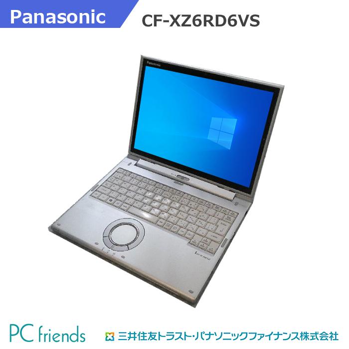 出店して15年以上 中古ノートパソコン専門店 安心の3ヶ月保証 厳格な動作試験 クリーニング済 Panasonic Letsnote CF-XZ6RD6VS Corei5 HDD256GB Bランク 無線LAN RAM8GB ※ラッピング ※ ブランド買うならブランドオフ 中古ノートパソコン SSD B5モバイル Windows10Pro搭載