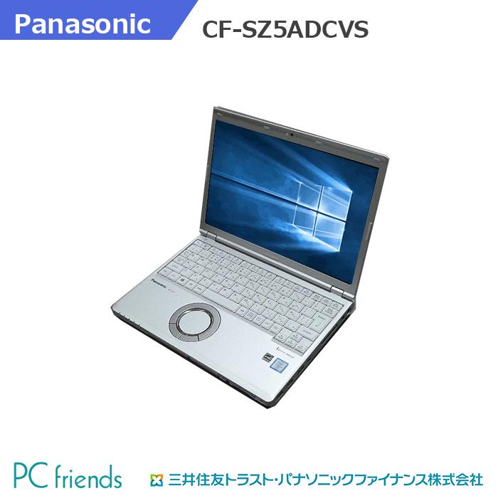 出店して15年以上 中古ノートパソコン専門店 安心の3ヶ月保証 厳格な動作試験 交換無料 クリーニング済 Panasonic Letsnote CF-SZ5ADCVS HDD320GB Cランク Corei5 無線LAN 中古ノートパソコン Windows10Pro搭載 RAM4GB 現品 B5モバイル