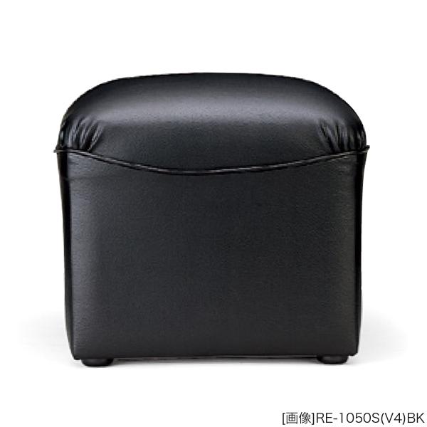 ラウンジチェア ビニールレザー張り 外寸法:W45×D45×H38cm 端材利用 本体:木枠、ウレタンフォーム 自重(4.2)kg