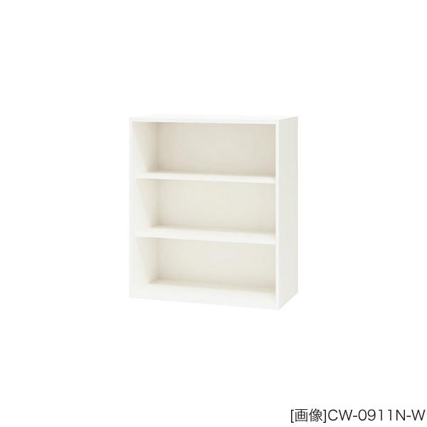 システム収納庫:CWSタイプ オープン書庫 外寸法:幅(W)89.9×奥行(D)40×高さ(H)105cm 棚板耐荷重:55kg グリーン購入法適合商品 自重(27.0)kg
