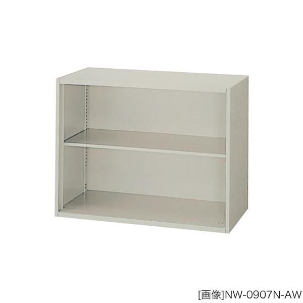 システム収納庫:NWSタイプ オープン書庫 棚板耐荷重:等分布55kg 外寸法:幅(W)89.9×奥行(D)40×高さ(H)70cm 自重(21.0)kg グリーン購入法適合商品