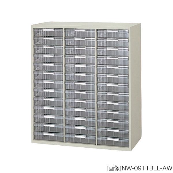 システム収納庫:NWSタイプ トレー書庫 深型:B4用(3列13段) 外寸法:幅(W)89.9×奥行(D)40×高さ(H)105cm 自重(45.0)kg グリーン購入法適合商品