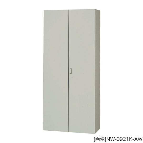 システム収納庫:NWタイプ ワードローブ 棚板耐荷重:等分布60kg 外寸法:幅(W)89.9×奥行(D)45×高さ(H)210cm ラッチ機構付き インジケーターキー 自重(54.0)kg グリーン購入法適合商品