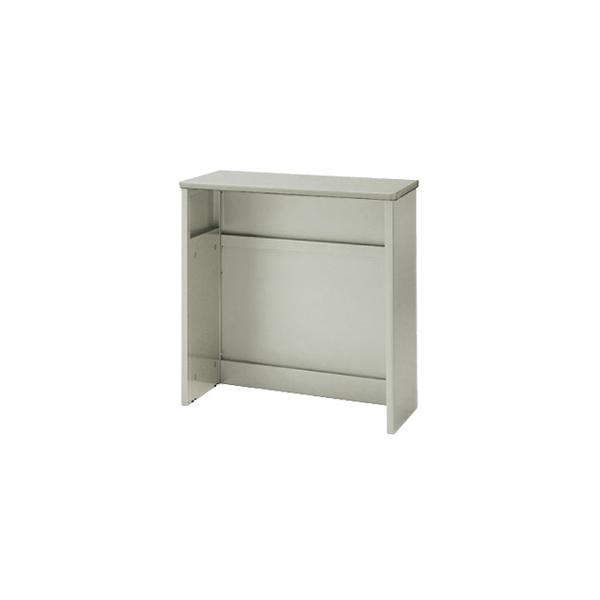 受付カウンター:SNC型 ハイカウンター フルオープンタイプ 外寸法:幅(W)90×奥行(D)46×高さ(H)95cm 自重(28.0)kg グリーン購入法適合商品