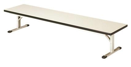 【送料無料】W1800×D600×H330mm T字座卓折畳テーブル