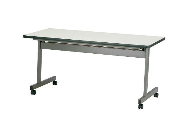 【送料無料】W1800×D600×H700mm ハネアゲ会議テーブル