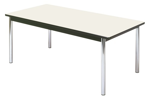 【送料無料】W2400×D1200×H700mm 多目的テーブル(ソフト巻)