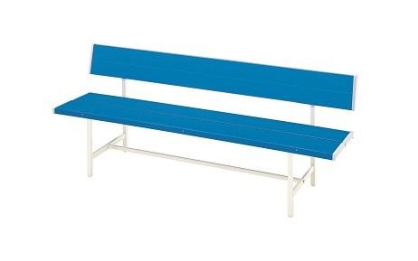 【送料無料】カラーベンチ W1806×D500×H700(SH400)mm(ブルー)