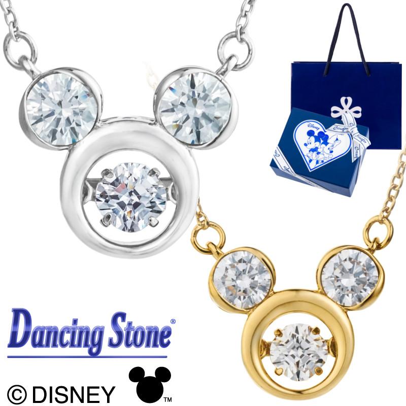 ダンシングストーン ディズニー ネックレス ミッキーマウス クロスフォーニューヨーク Mickey NDP-001 ミッキー DISNEY 20代 30代 40代 50代 ギフト プレゼント 女性 母 ママ 女子 彼女 誕生日 結婚 記念日 サプライズ