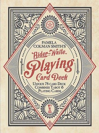 こちらがウワサのウェイト SALENEW大人気 トランプ 78枚のポーカーデッキ ライダー ウェイト Rider-Waite 卓越 Card Playing ゴールド Deck トランプチャーム付 ラビット