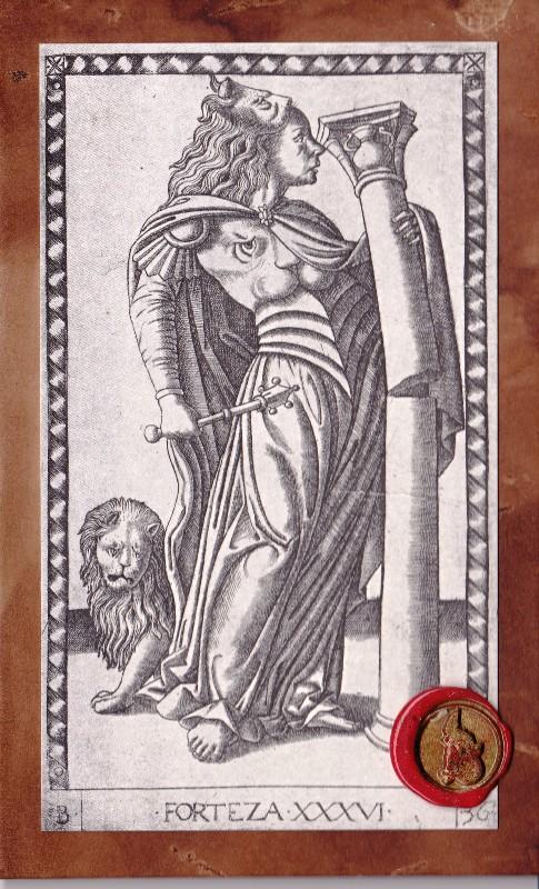 【タロットカード】マンテーニャ・タロット/Tarocchi del Mantegna