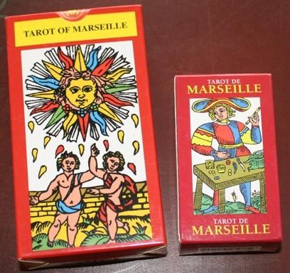 マルセイユ版2点セット(クロード・バーデル/Claude Burdel)のマルセイユ版/Tarots of Marseille by Baptiste-Paul Grimaud)