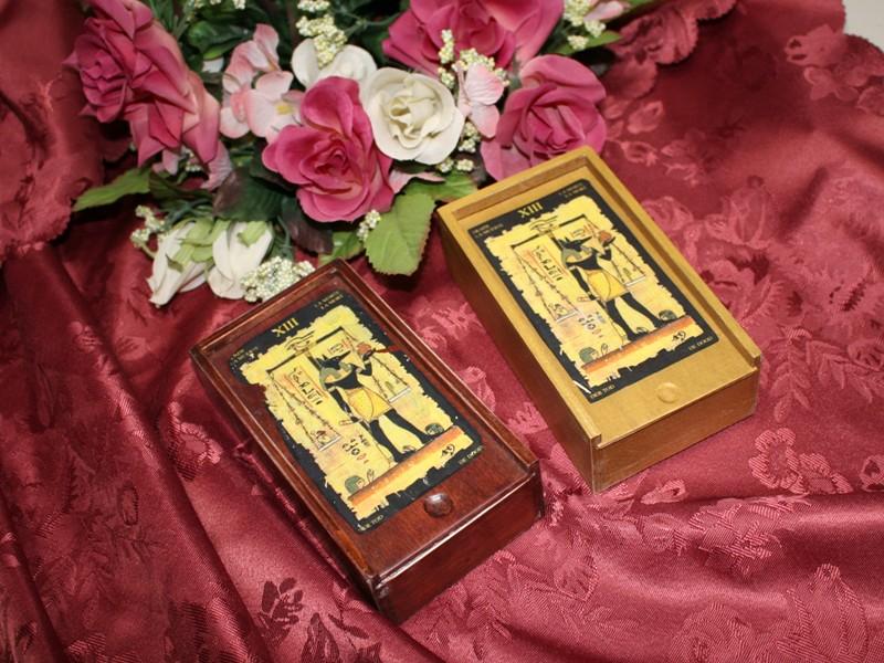 ハンドメイドオリジナルBOX付 Spell =おまじない 付きエジプシャン ボックス 海外並行輸入正規品 タロット 予約販売品 TarotBox Egyptian