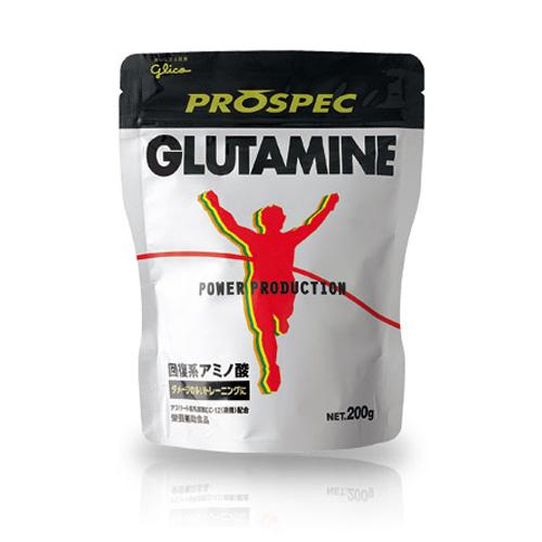 格力高 POWER PRODUCTION  PROSPEC GLUTAMINE 麸醯胺酸 回复型胺基酸粉末  200g