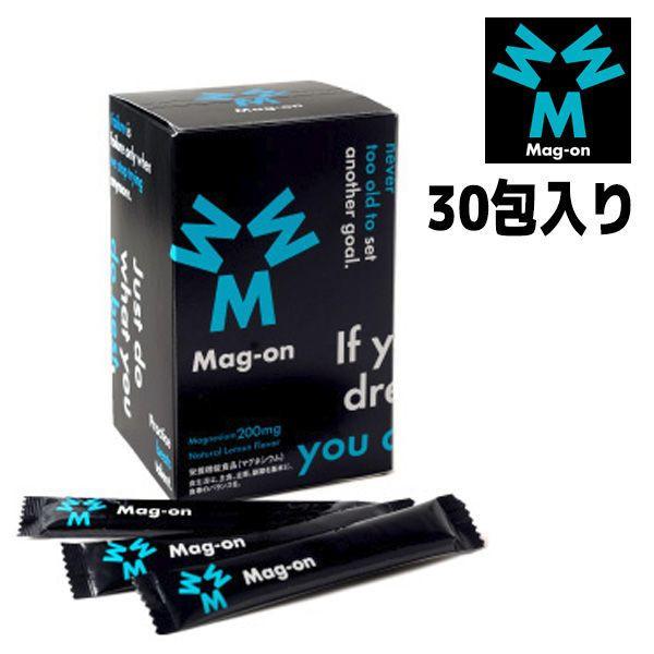 Mag-on マグ・オン 30包入り レモンフレーバー 顆粒タイプ マグオン